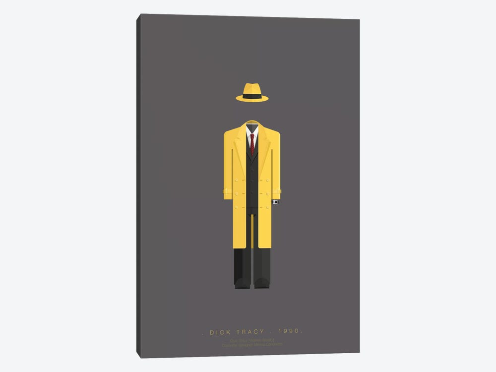 Dick Tracy by Fred Birchal 1-piece Canvas Print