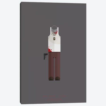 Die Hard Canvas Print #FBI39} by Fred Birchal Canvas Art