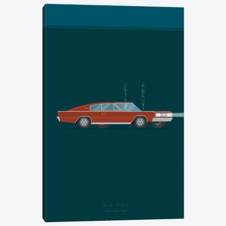 Big Fish Canvas Print #FBI3} by Fred Birchal Canvas Art