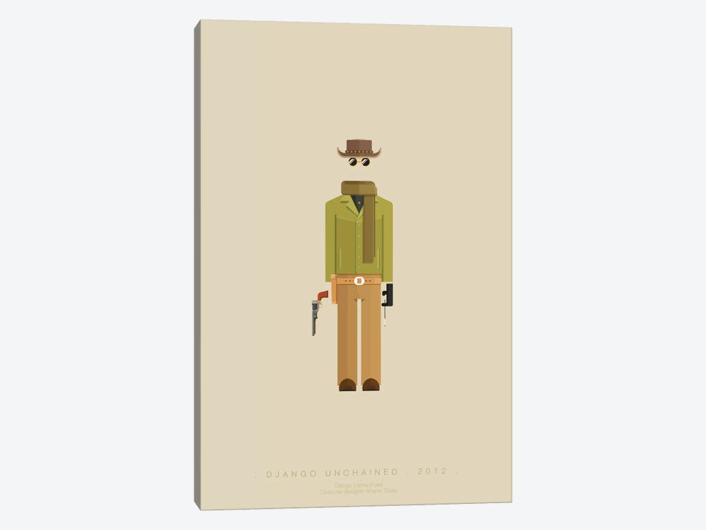 Django Unchained I by Fred Birchal 1-piece Canvas Artwork