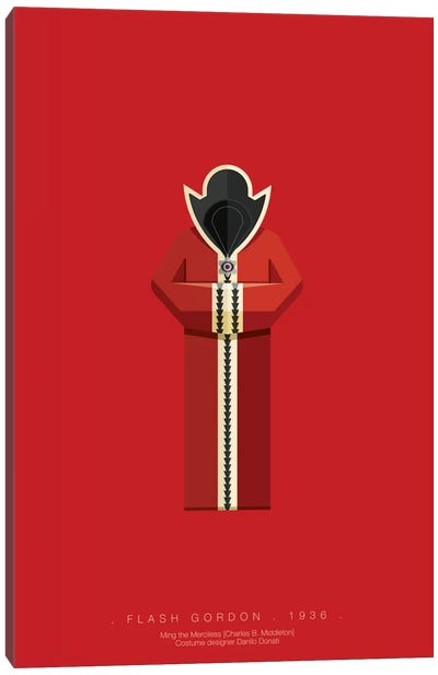 Famous Hollywood Costumes Series: Flash Gordon Canvas Print #FBI44