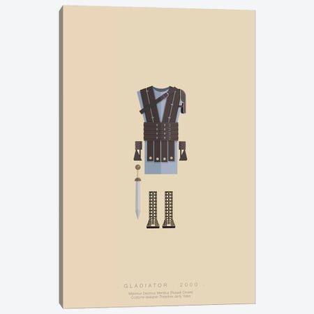 Gladiator Canvas Print #FBI48} by Fred Birchal Art Print