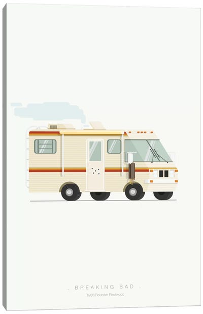 Famous Cars Series: Breaking Bad Canvas Art Print