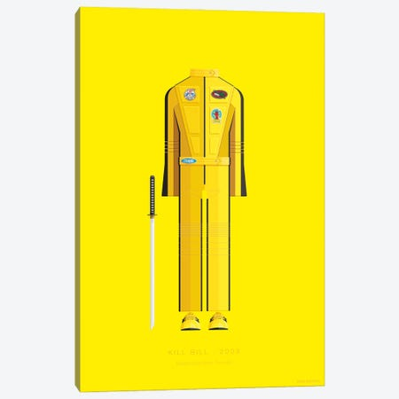 Kill Bill I Canvas Print #FBI50} by Fred Birchal Canvas Art