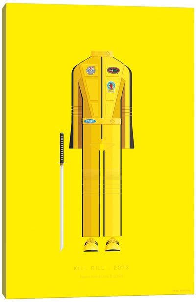 Famous Hollywood Costumes Series: Kill Bill I Canvas Art Print