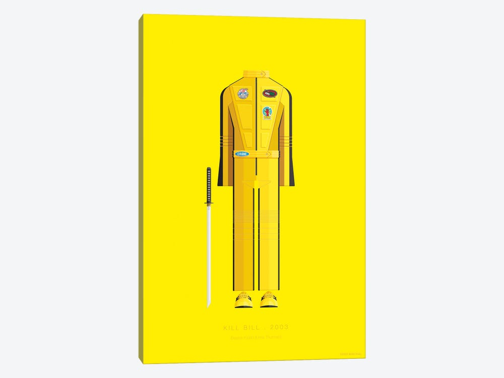 Kill Bill I by Fred Birchal 1-piece Art Print