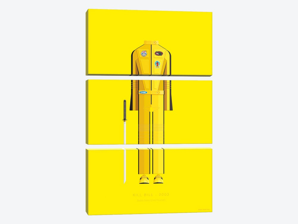 Kill Bill I 3-piece Canvas Print