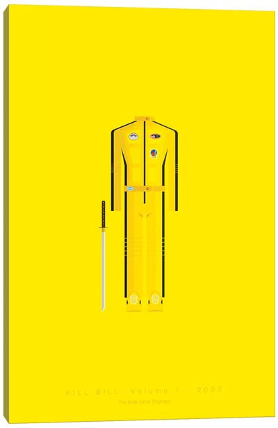 Famous Hollywood Costumes Series: Kill Bill II Canvas Art Print