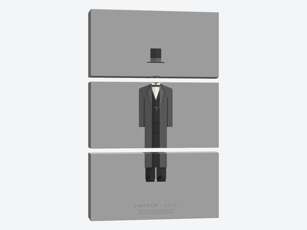 Lincoln by Fred Birchal 3-piece Canvas Artwork