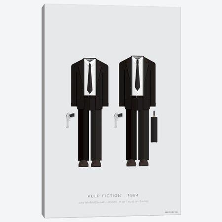 Pulp Fiction Canvas Print #FBI60} by Fred Birchal Canvas Print