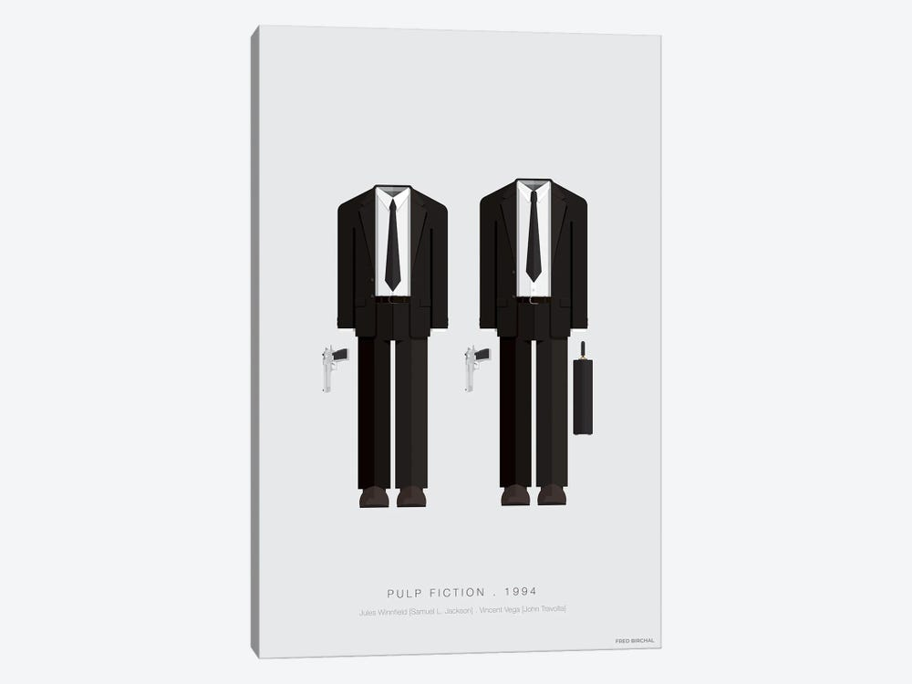 Pulp Fiction by Fred Birchal 1-piece Canvas Art