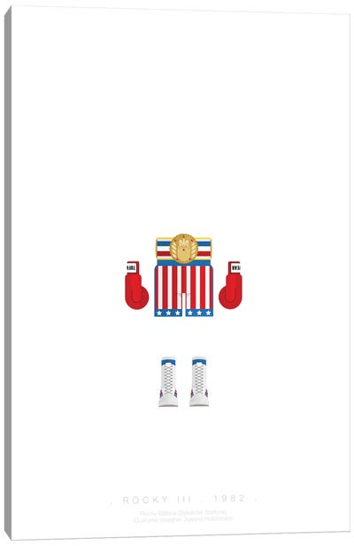 Famous Hollywood Costumes Series: Rocky I Canvas Print #FBI62