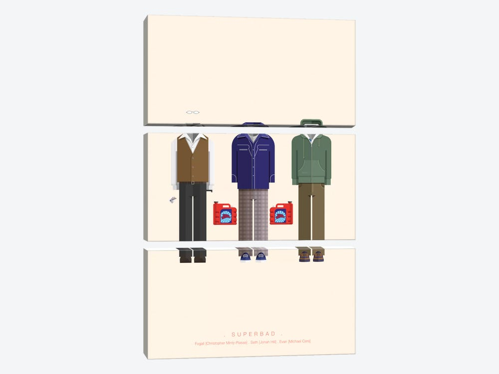 Superbad 3-piece Art Print