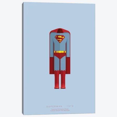 Superman Canvas Print #FBI68} by Fred Birchal Canvas Print