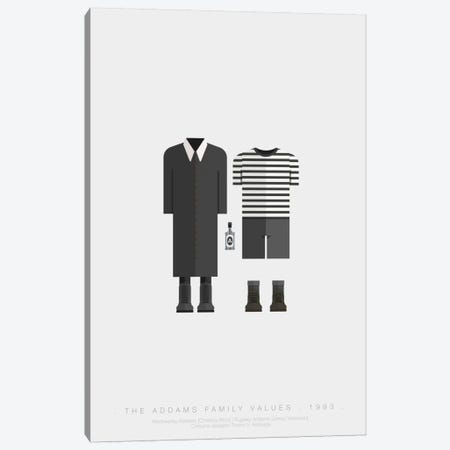 The Addams Family Canvas Print #FBI70} by Fred Birchal Canvas Artwork