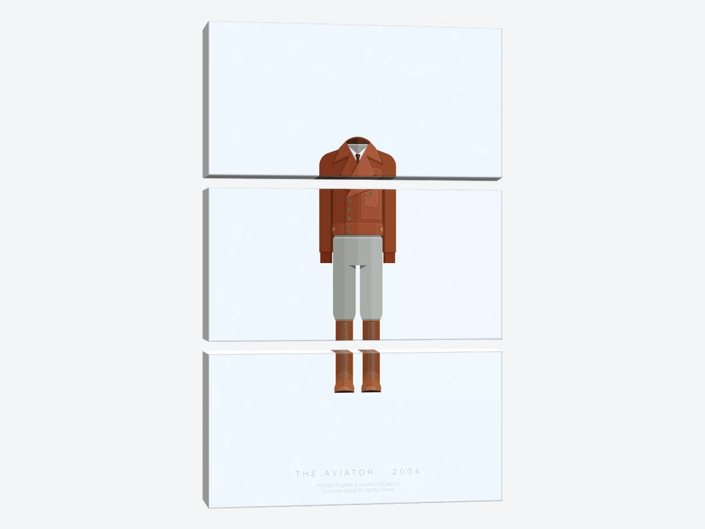 The Aviator by Fred Birchal 3-piece Canvas Wall Art