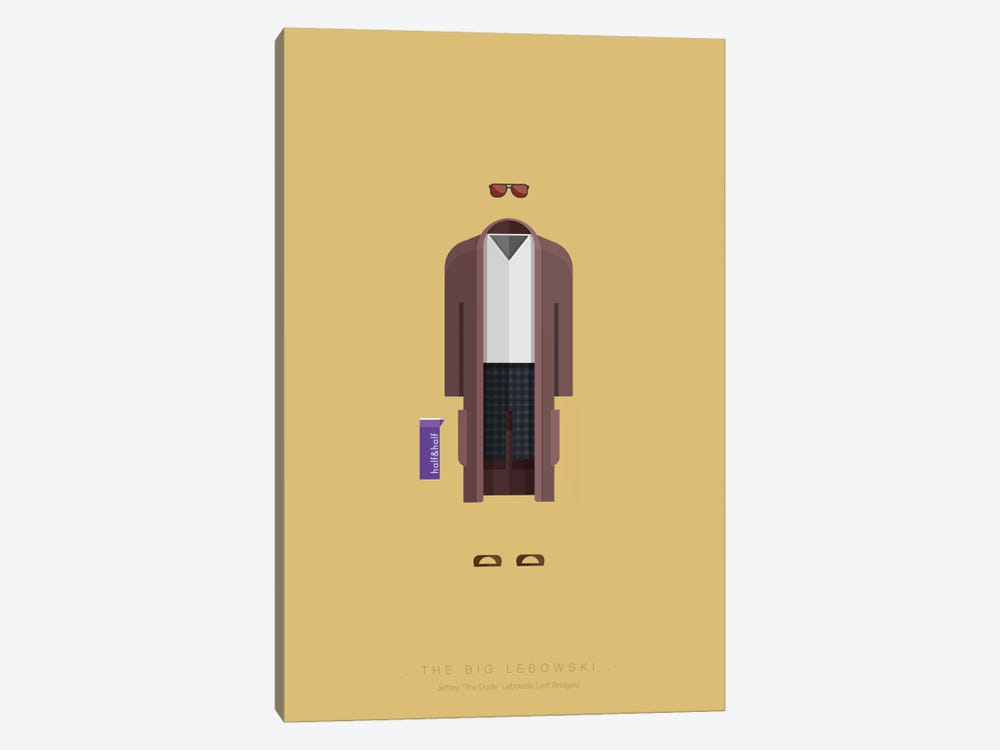 The Big Lebowski by Fred Birchal 1-piece Art Print