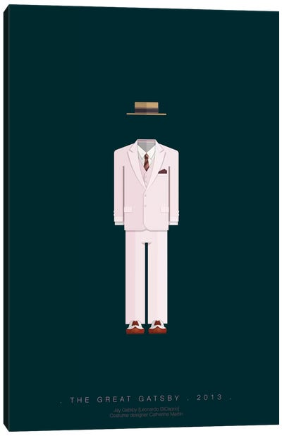 Famous Hollywood Costumes Series: The Great Gatsby Canvas Print #FBI76