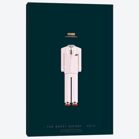 The Great Gatsby Canvas Print #FBI76} by Fred Birchal Art Print