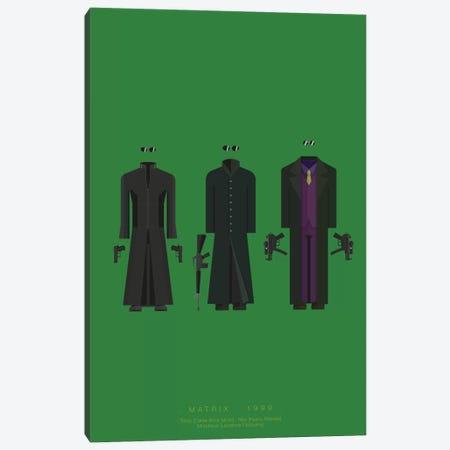 The Matrix II Canvas Print #FBI79} by Fred Birchal Canvas Wall Art
