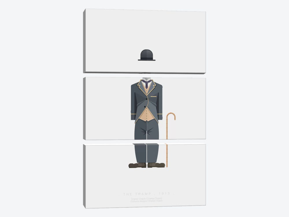 The Tramp by Fred Birchal 3-piece Art Print
