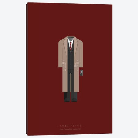 Twin Peaks Canvas Print #FBI89} by Fred Birchal Art Print