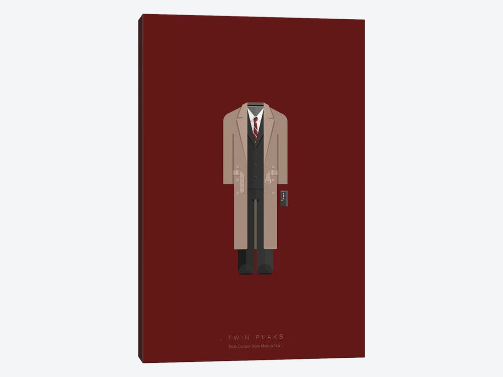 Twin Peaks by Fred Birchal 1-piece Art Print
