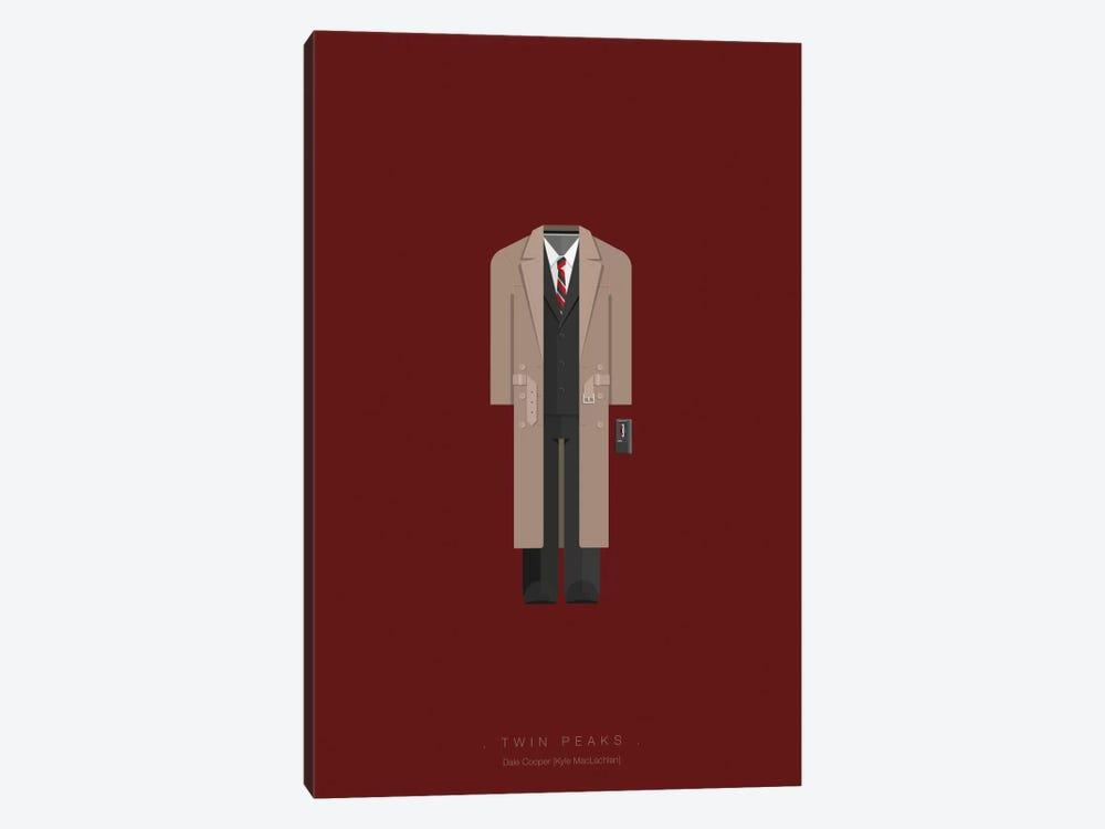 Twin Peaks by Fred Birchal 1-piece Art Print