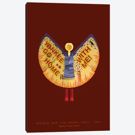 Hedwig And The Angry Inch Canvas Print #FBI95} by Fred Birchal Art Print