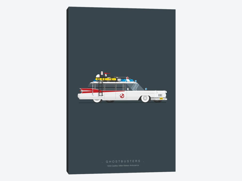 Ghostbusters by Fred Birchal 1-piece Canvas Art