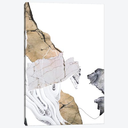 Paper Look II 3-Piece Canvas #FBK105} by Design Fabrikken Canvas Print