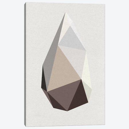 Rock I Canvas Print #FBK120} by Design Fabrikken Canvas Artwork