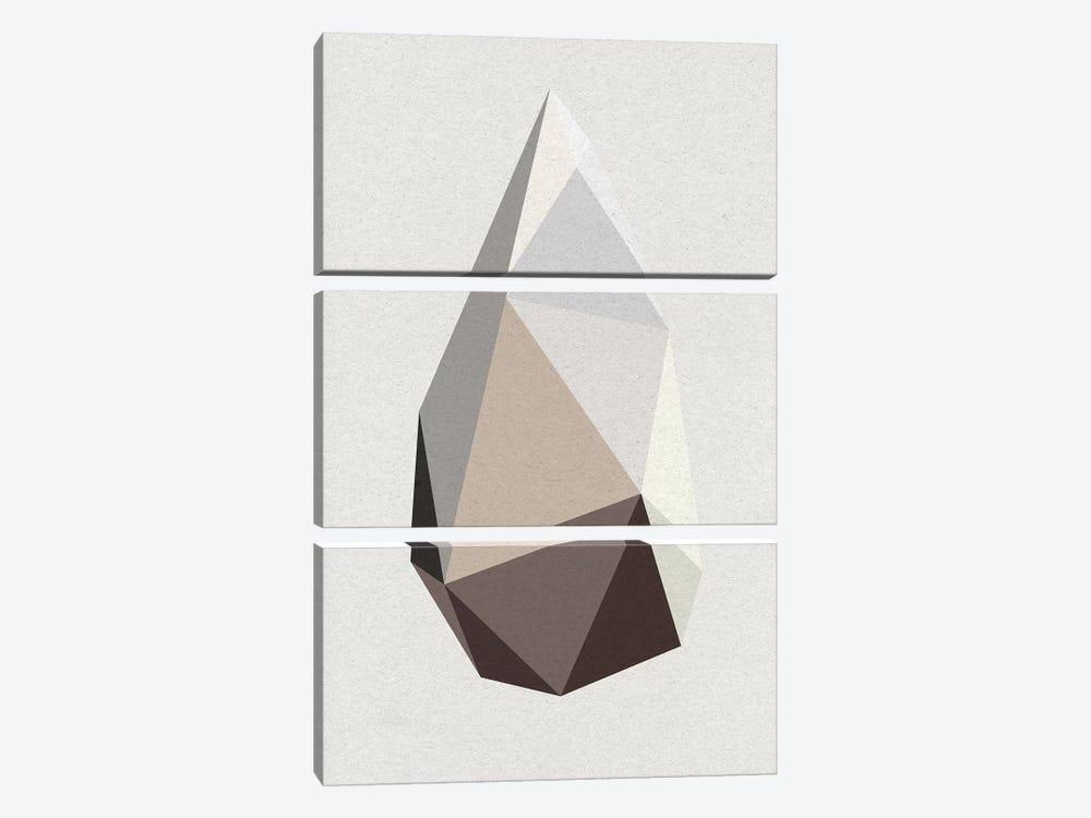 Rock I by Design Fabrikken 3-piece Canvas Artwork