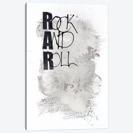Rock and Roll Canvas Print #FBK121} by Design Fabrikken Canvas Artwork