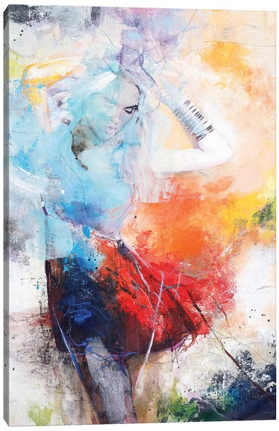 She Dances Canvas Art Print
