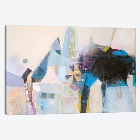 Spinning Mill I Canvas Print #FBK129} by Design Fabrikken Canvas Art