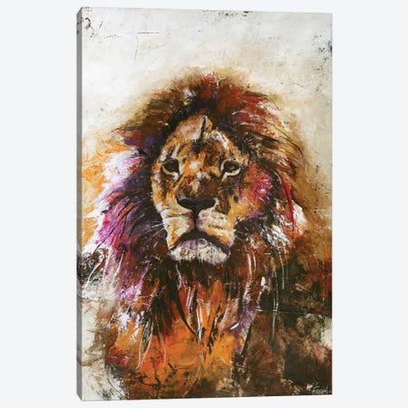 Tiger Vision Canvas Print #FBK142} by Design Fabrikken Canvas Artwork