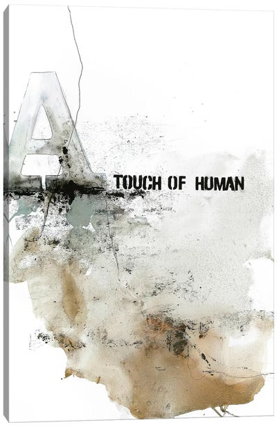 Touch of Human Canvas Art Print