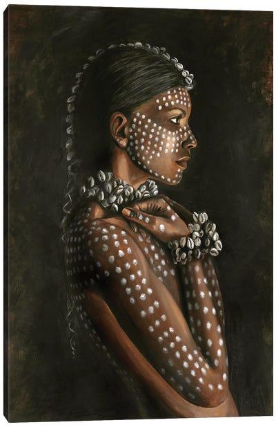 Tribal Woman Canvas Art Print