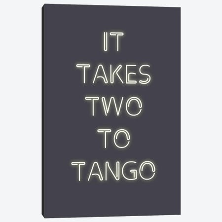 Two to Tango Canvas Print #FBK148} by Design Fabrikken Canvas Artwork