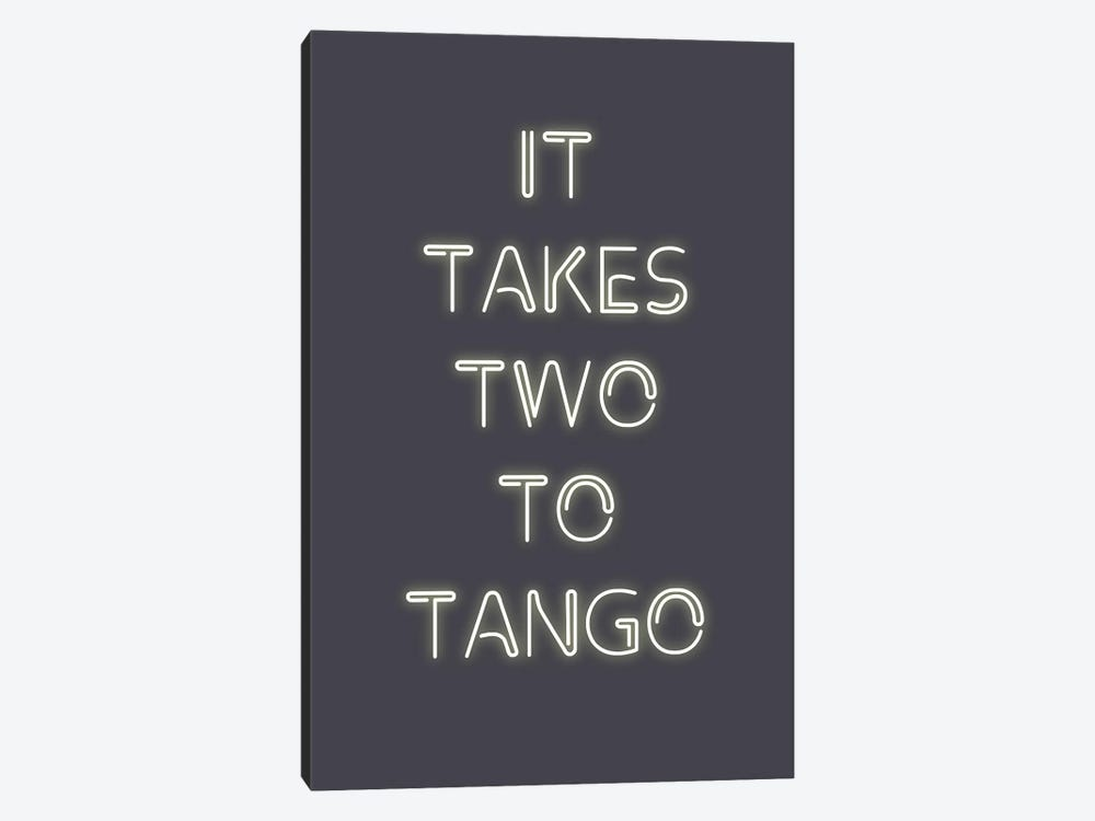 Two to Tango by Design Fabrikken 1-piece Canvas Wall Art