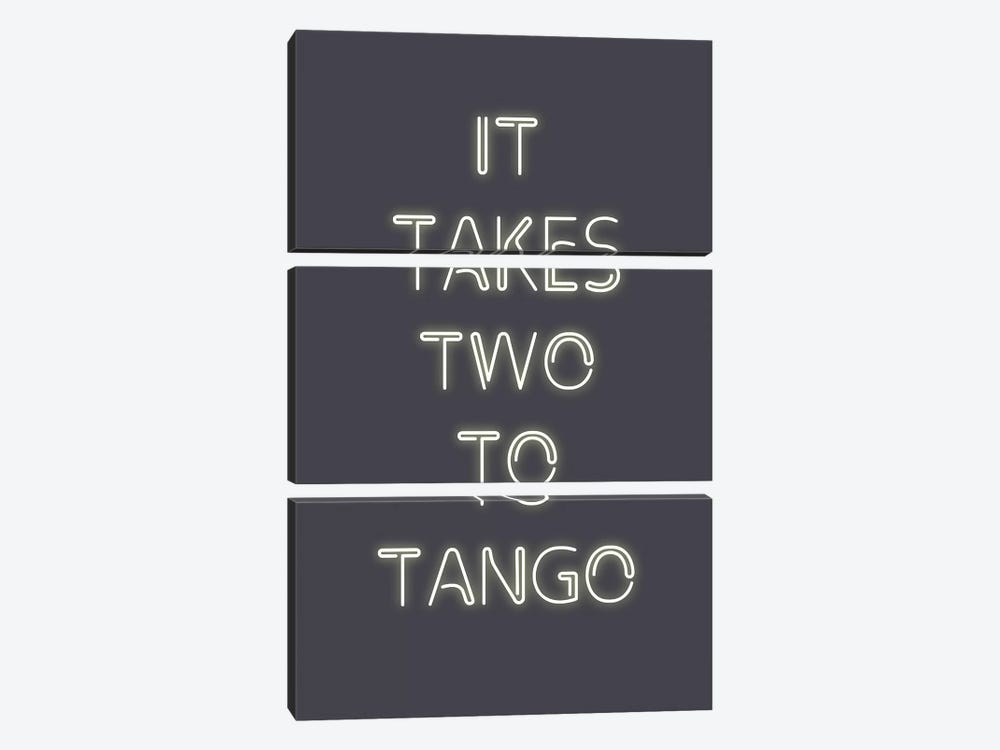 Two to Tango by Design Fabrikken 3-piece Canvas Art
