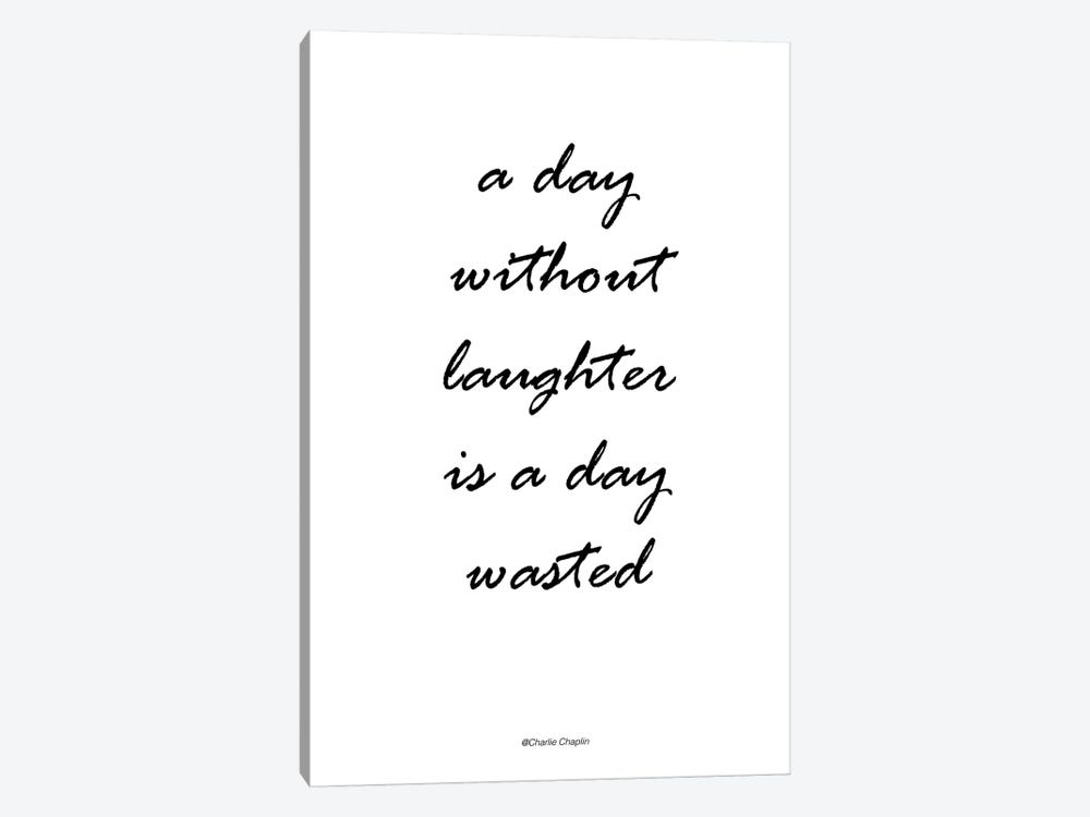 Without Laughter by Design Fabrikken 1-piece Canvas Art