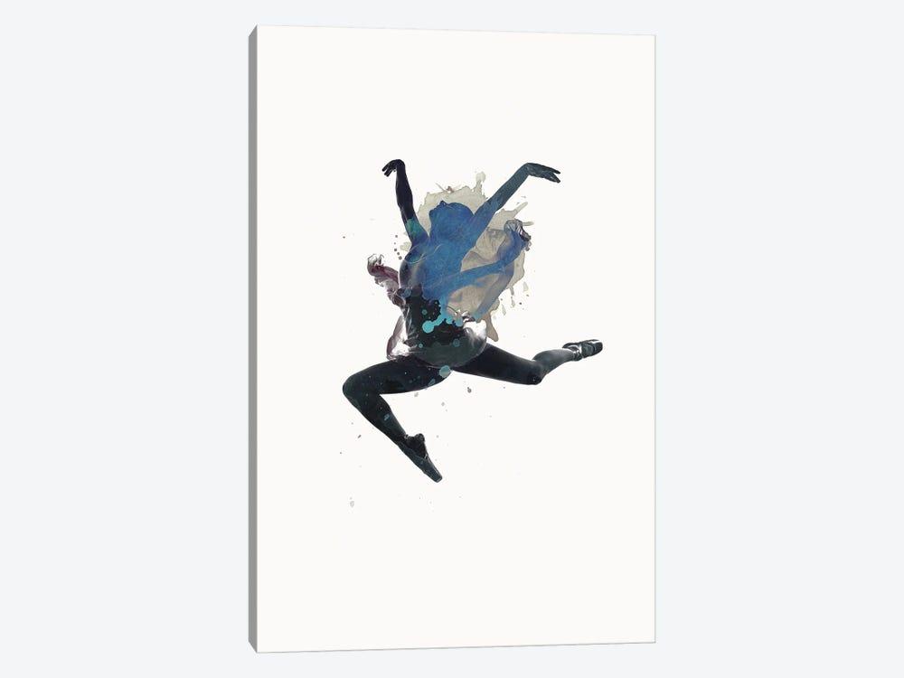 Ballerina Floating by Design Fabrikken 1-piece Canvas Print