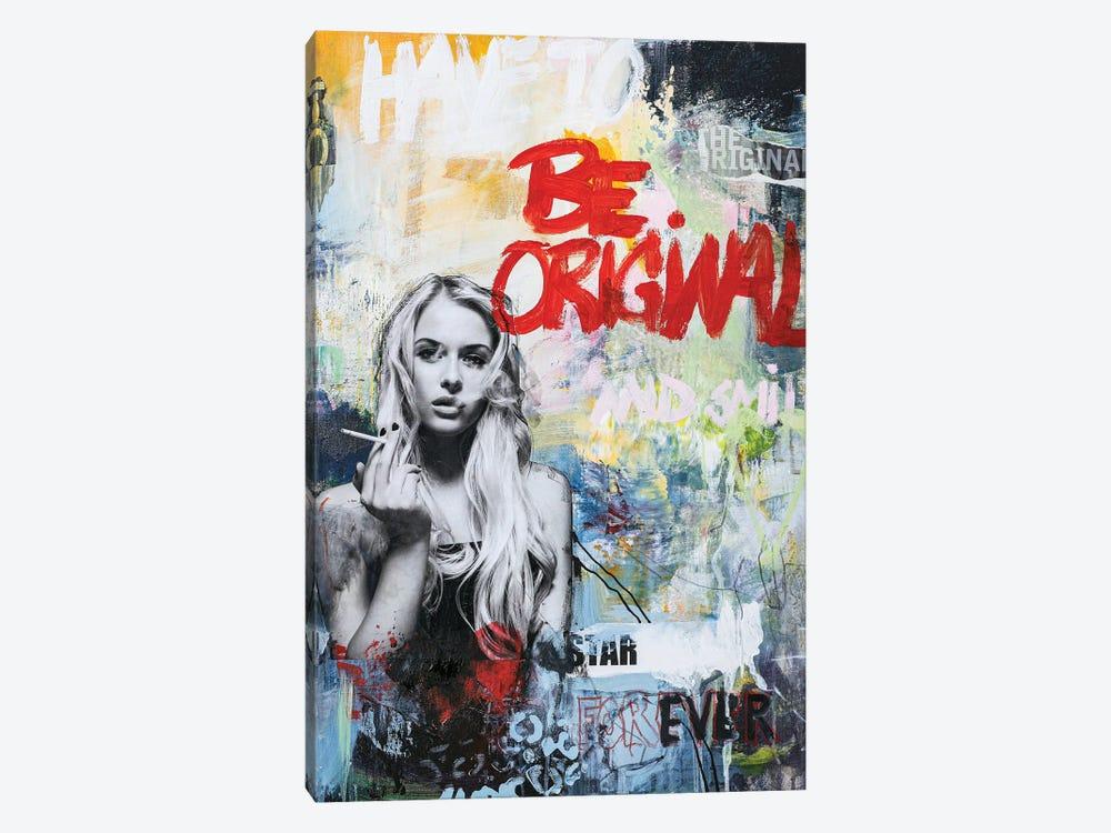 Be Original by Design Fabrikken 1-piece Canvas Artwork