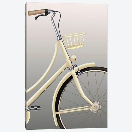 Bicycle Canvas Print #FBK177} by Design Fabrikken Canvas Artwork