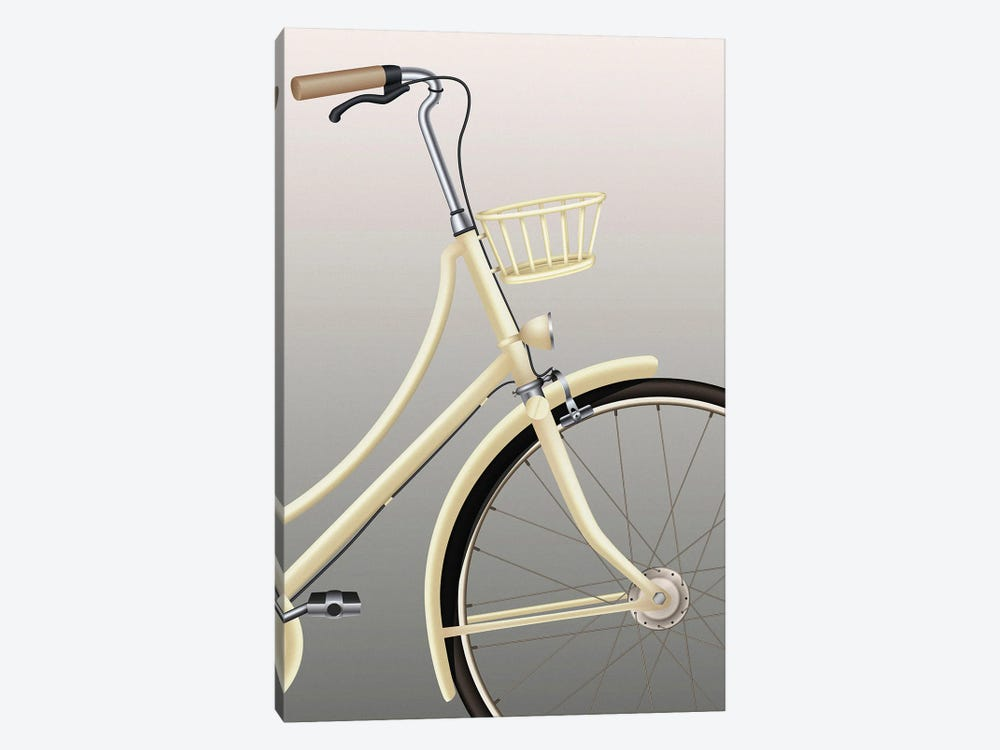 Bicycle by Design Fabrikken 1-piece Canvas Wall Art