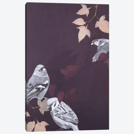 Bird I Canvas Print #FBK178} by Design Fabrikken Canvas Print