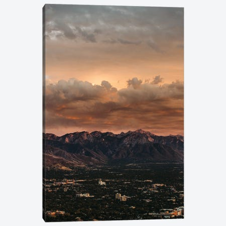 Bishop X Canvas Print #FBK190} by Design Fabrikken Canvas Art Print