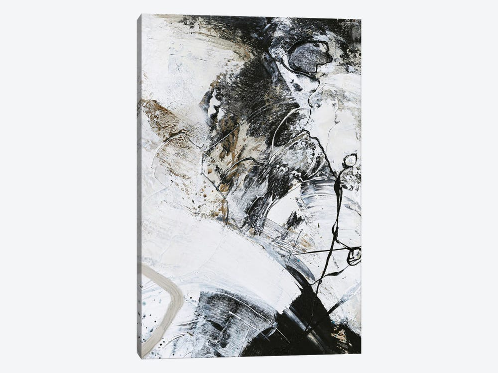 Black and White I by Design Fabrikken 1-piece Canvas Wall Art